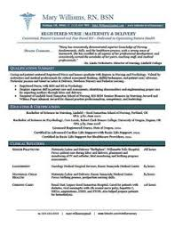 ... Resume For Graduate Nurse 3 Sample New Rn RN Grad Nursing ...