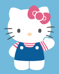 You will find coloring pages with character hello kitty, which you can print yourself. Hello Kitty Wikipedia