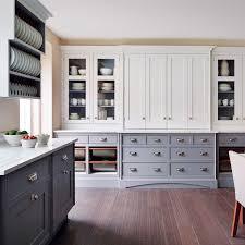 dark wood floor kitchen. Smallbone Painted Kitchen With Dark Wood Flooring|Wondrous Ways Flooring|kitchen| Floor
