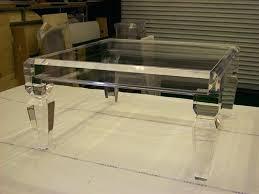 clear acrylic coffee table black canada clear acrylic coffee table