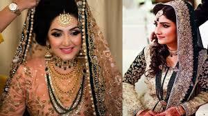 stani wedding bridal makeup dresses hairstyles indian part 1