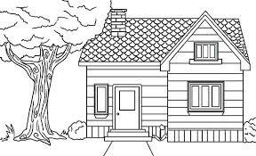 House Coloring Sheets Coloring Pages House Houses Coloring Pages
