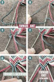 the active colour string will end up being in the center note there are 4 b knots in the photo but don t mind the top most one i ll explain why it s