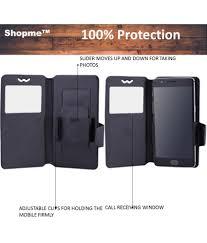 Xolo Q1010 Flip Cover by Shopme - Black ...