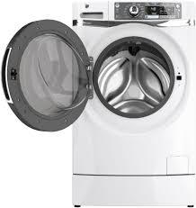 Ge Appliances Washing Machine Ge Gfwr4800fww 28 Inch 48 Cu Ft Front Load Washer With 13 Wash