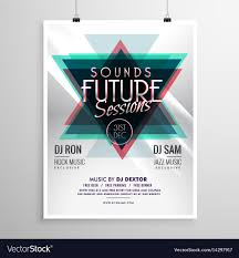 Event Flyers Free Event Flyer Poster Template With Abstract