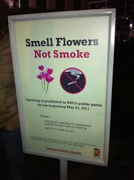 smoke outdoor air no smoke org smell flowers not smoke