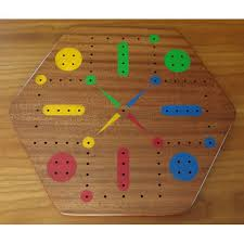 Wooden Board Game With Pegs Sepele Wood Fast Track Aggravation Game Board With Pegs 65