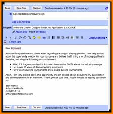 Emailing Resume Resumes Sample Email Cover Letter Message