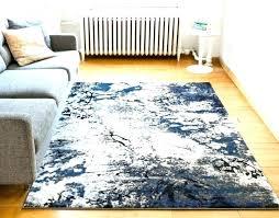 blue and white striped area rugs grey splash modern geometric brush rug 6x9 are