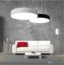 office pendant light. Modern Minimalism Led Hanging Lights Suspension Lighting Office Pendant Light Matte Metal Round Pendnat Fixtures Ac85 265v Drop Ceiling P
