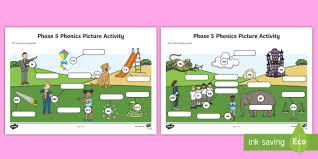 250 free phonics worksheets covering all 44 sounds, reading, spelling, sight words and sentences! Phase 5 Phonics Picture Worksheet Worksheet Phase 5 Phonics Picture