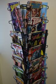 comic book spinner rack comic s