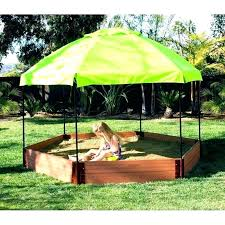 benefits of sandboxes with canopy sandbox diy kids sandbox with canopy and 2 convertible benches