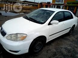 toyota corolla 2005 white. Wonderful 2005 Toyota Corolla 2005 White In Ikeja  Cars Abdulsalam Olamilekan  Jijing  For Sale Buy Cars From On Inside P