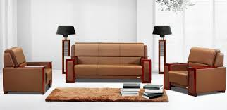 modern office sofas. Chic Modern Office Waiting Room Furniture Highgrade Leather Sofa Combination Designs: Full Sofas