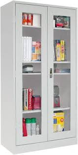 sandusky atlantic 35 13 16 inch wide x 16 7 16 inch deep extra shelf for quick view cabinet black