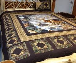 Best 25+ Wildlife quilts ideas on Pinterest | Panel quilts, Fabric ... & My Deer queen quilt. by QuiltingBeis on Etsy Adamdwight.com
