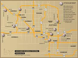 Suns Stadium Seating Chart Cactus League Spring Training Stadium Map Click On A