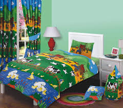 farm toddler bedding sets junior bed size farmyard friends duvet cover set farm animals cows on