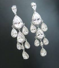 new chandelier bridal earrings for crystal wedding earrings crystal bridal earrings chandelier earrings teardrop crystal earrings