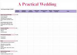 how to create a perfect (for you) wedding budget a practical Expenses For Wedding Plan apw wedding budget spreadsheet expenses for wedding plan