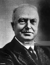 Portrait of Giovanni AGNELLI in the 1930's, the founder of the... Foto di  attualità - Getty Images