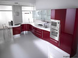 Red Kitchen Furniture Red Kitchen Cabinets Modern Kitchen Design Kitchen Design Ideas