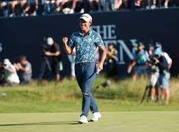 Golfer Collin Morikawa is atletisch ...