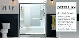 sterling kohler shower doors