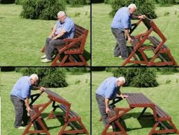 Bench Build A Picnic Table Bench This Design Allows Guest To Set How To Make Picnic Bench
