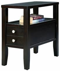 narrow chairside table with drawers. narrow chairside table with drawers i