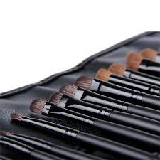 aliexpress 2016 best selling professional 24 makeup brush set tools make up toiletry kit wool brand