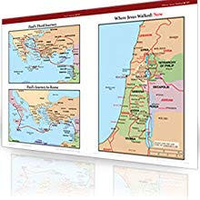 Amazon Com Rose Book Of Bible Charts Maps And Time Lines