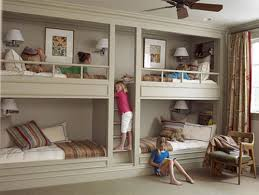 Kids' Rooms: Bunk Beds and Built-ins