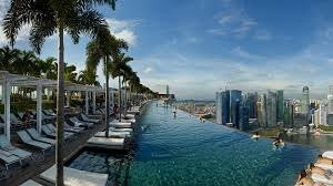 infinity pool singapore. Photo: Source Infinity Pool Singapore