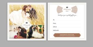 Photography Gift Certificate Template 12 Photography Gift Certificate Templates Free Sample Example