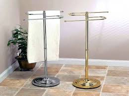 towel holder stand. Outdoor Towel Holder Rack Stand Image Of Free Standing Material . R