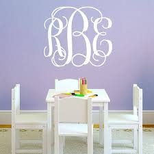 baby monogram wall decals popular monogram wall sticker