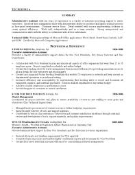 resume examples sample resume for administrative position sample resume examples sample resume for administrative position sample objective resume administrative assistant example objective for resume executive