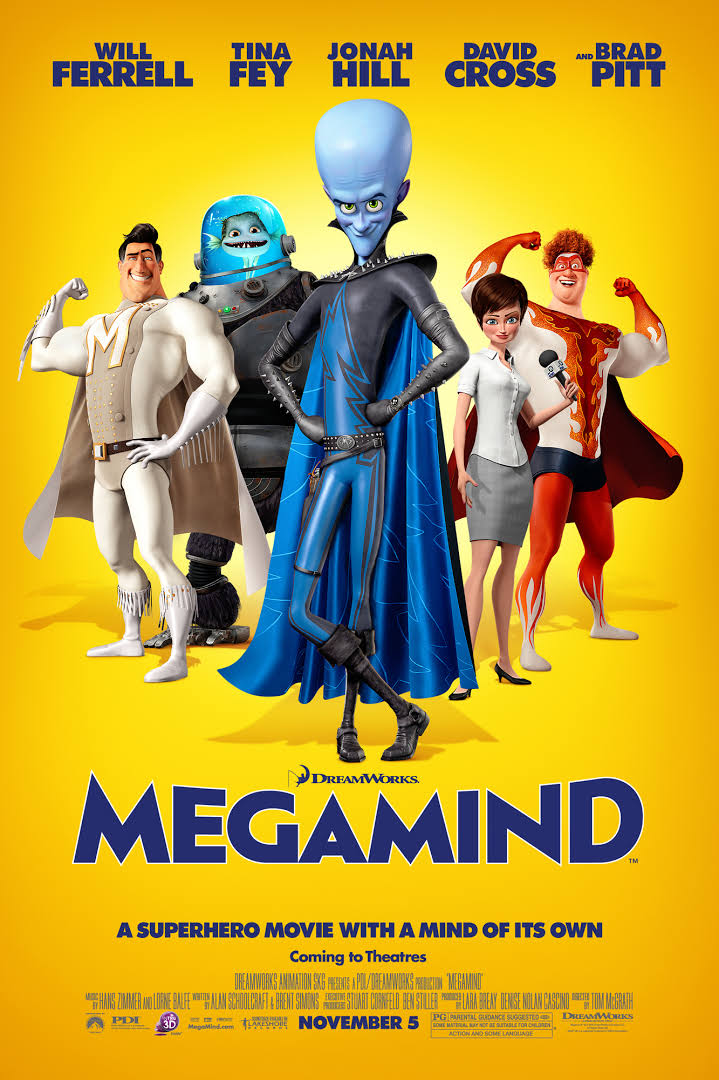 Megamind (2010) Dual Audio {Hindi-English} 480p | 720p