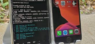 Now, you will go the below screen, press alt + f2 to enter the checkra1n screen. How To Jailbreak Your Iphone With Your Android Phone Or Tablet Ios Iphone Gadget Hacks