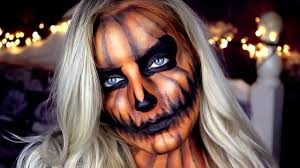 pumpkin makeup tutorial