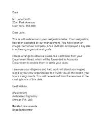 Resignation From The Company 37 Professional Relieving Letters Free Templates