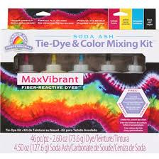 Tie Dye Mixing Chart Rainbow Rock Professional Tie Dye And Color Mixing Kit