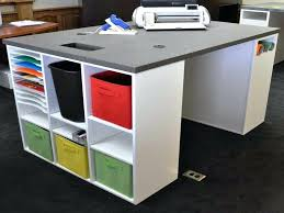 Storage:Craft Table And Storage Also Black Craft Desk With Storage Together  With Craft Table