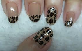 Leopard Print Nail Art - YouTube
