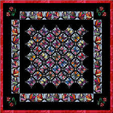 Stained Glass Quilt Pattern Fascinating Stained Glass Butterfly Free Quilt Pattern