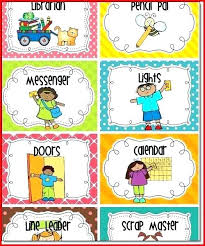 73 Memorable Classroom Job Chart Images