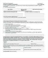 Release Of Information Form Template. Authorization Medical Records ...